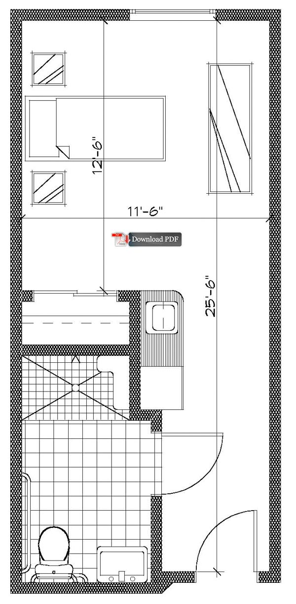Small studio floor plans joy studio design gallery for Small studio plans