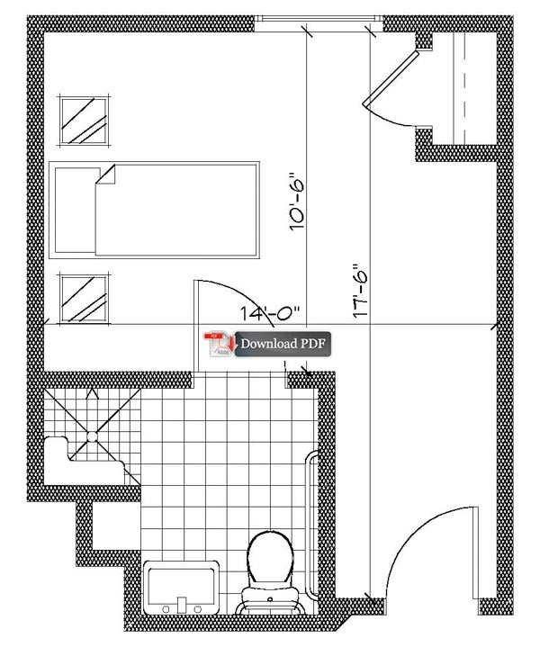 Nursing Home Room Floor Plans